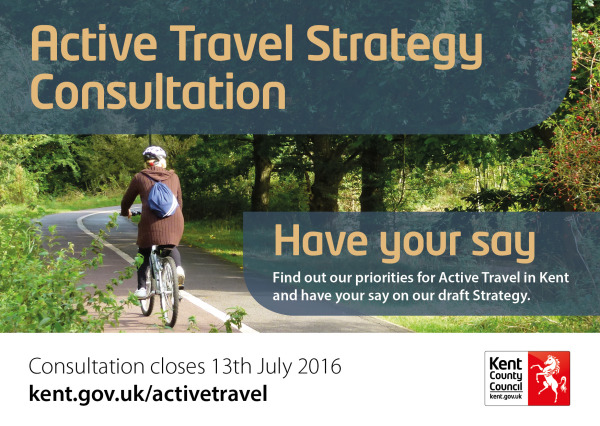 KCC Active Travel Strategy Consultation - link